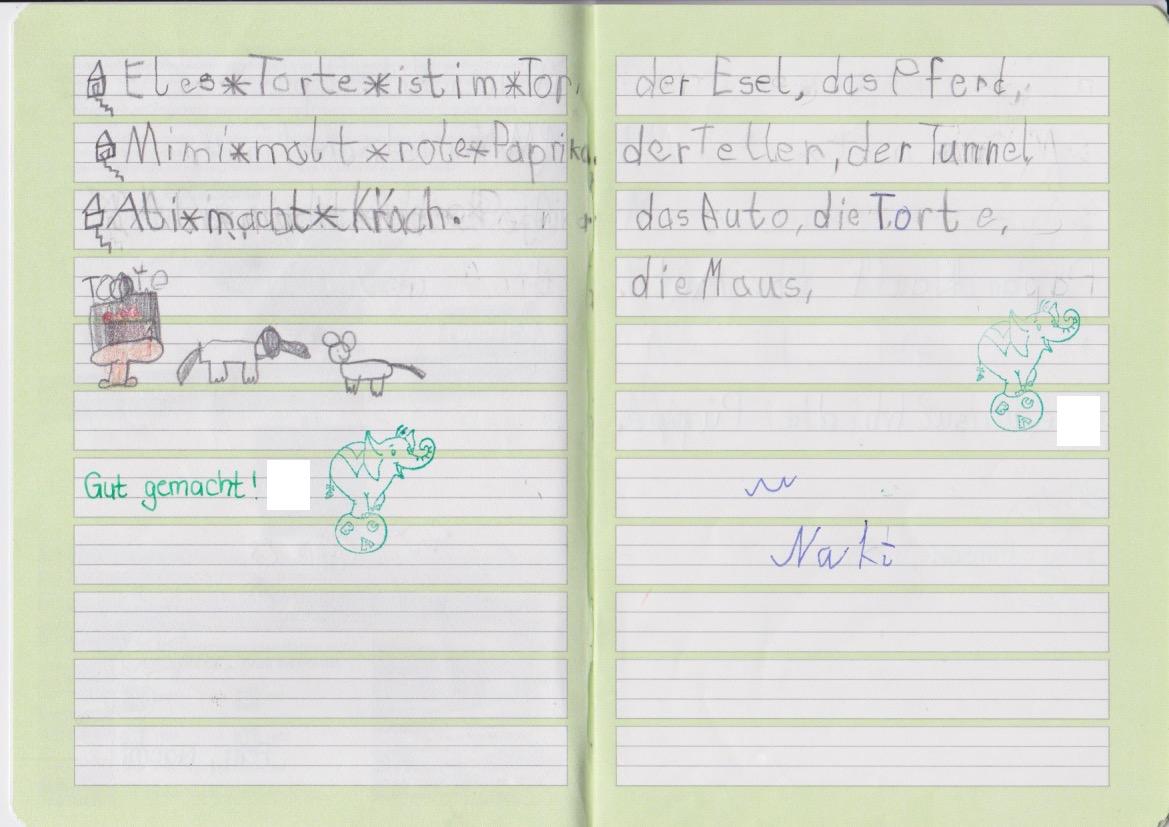 Schlechte Handschrift bei Grundschülern – Schicksal oder ...